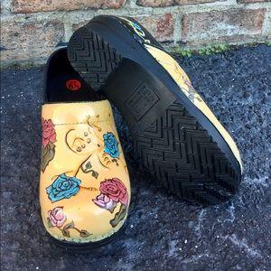 Sanita Shoes - Sanita Artist Hand Painted Clogs